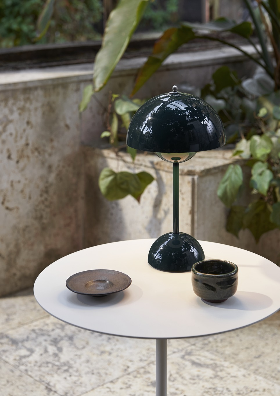 &Tradition Flowerpot Portable VP9 Dark Green