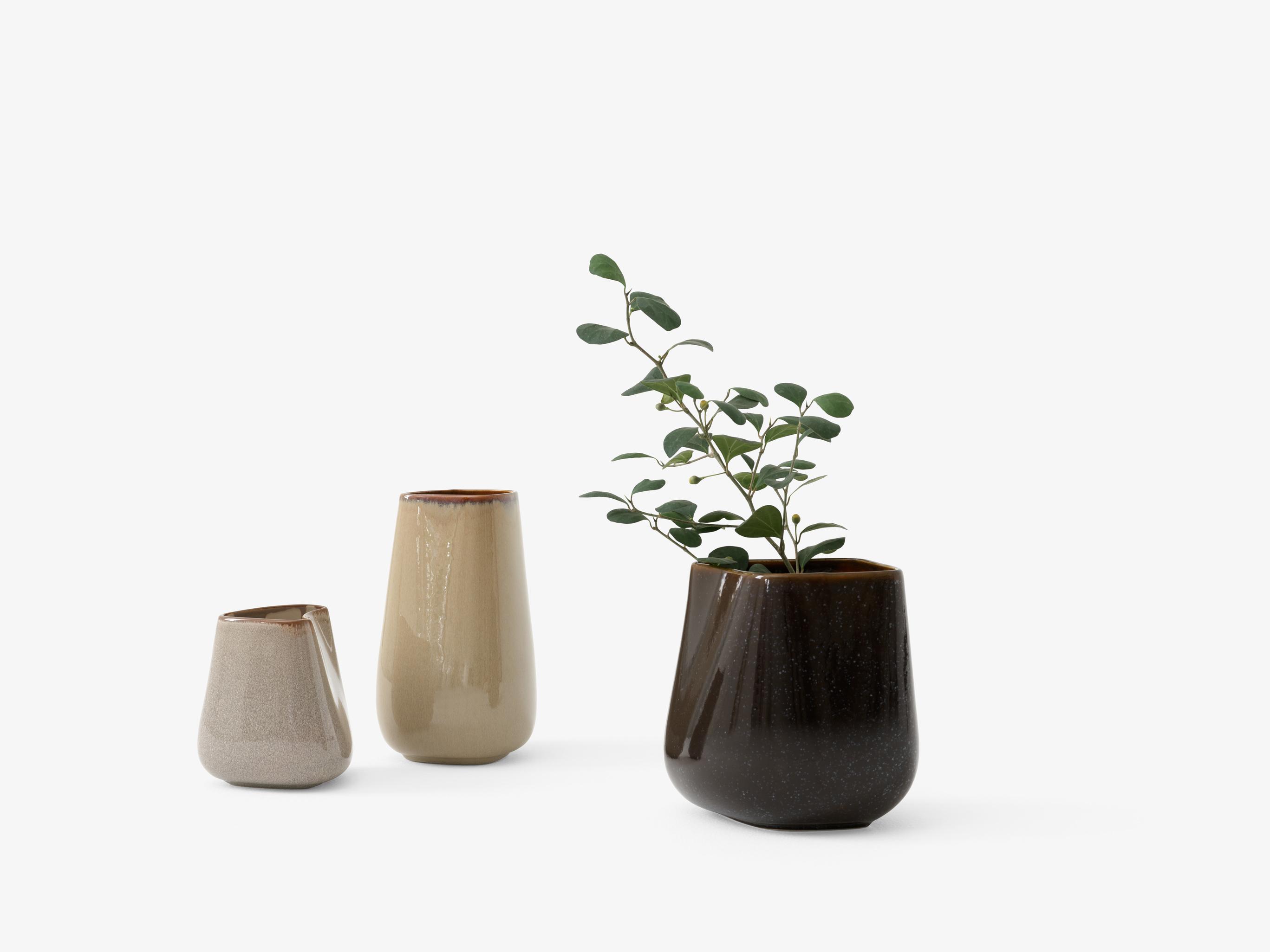 &Tradition Ceramic Vase Dive SC67 h: 23 cm