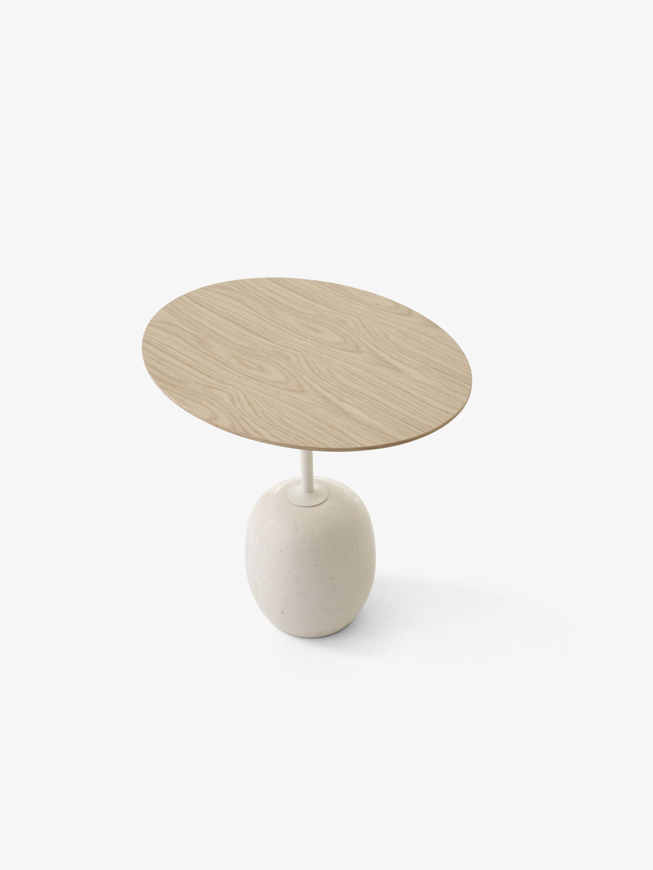 &Tradition Lato Table LN8 LN9 Oval Ivory White