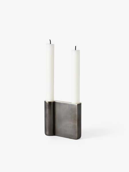 &Tradition Collect Candleholder SC39 bronzed brass S