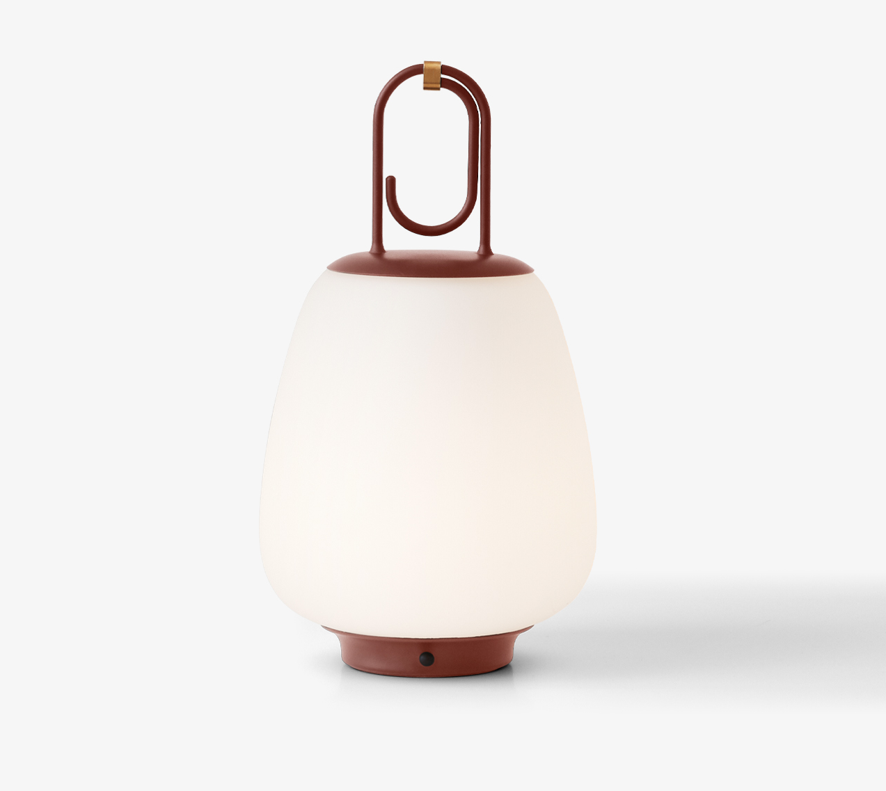 &Tradition Lucca SC51 Outdoor Portable Lamp Maroon