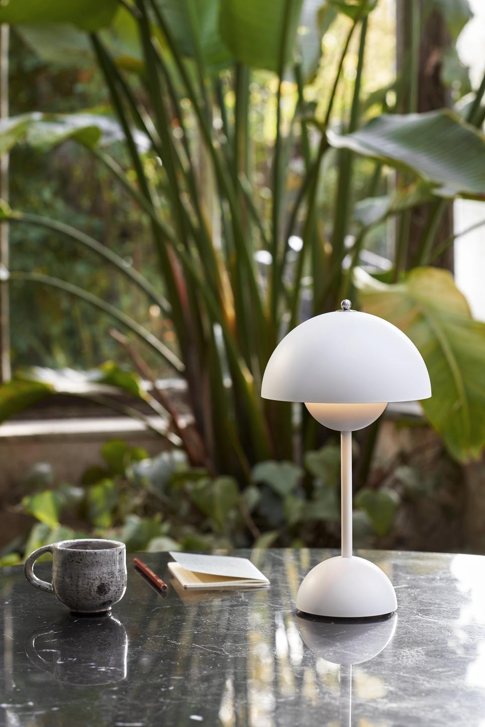 &Tradition - Flowerpot Portable VP9 Matt Light Grey