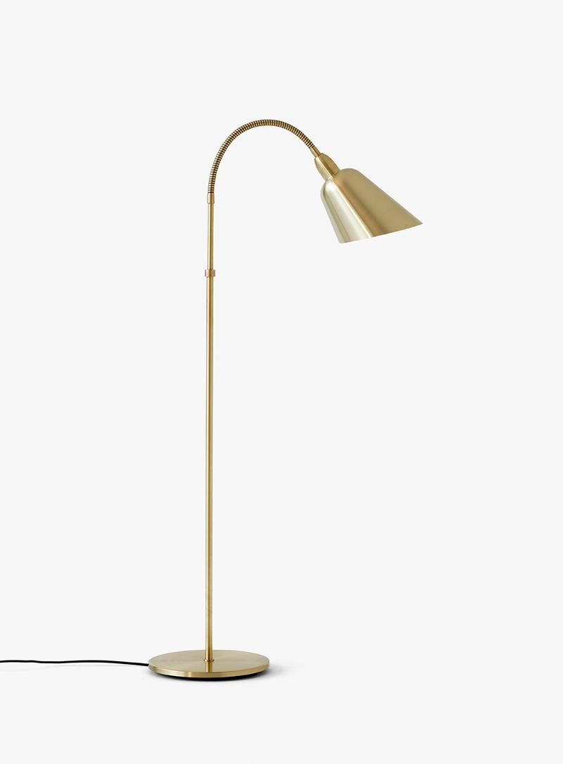&Tradition Bellevue Floor Lamp AJ7 Brass