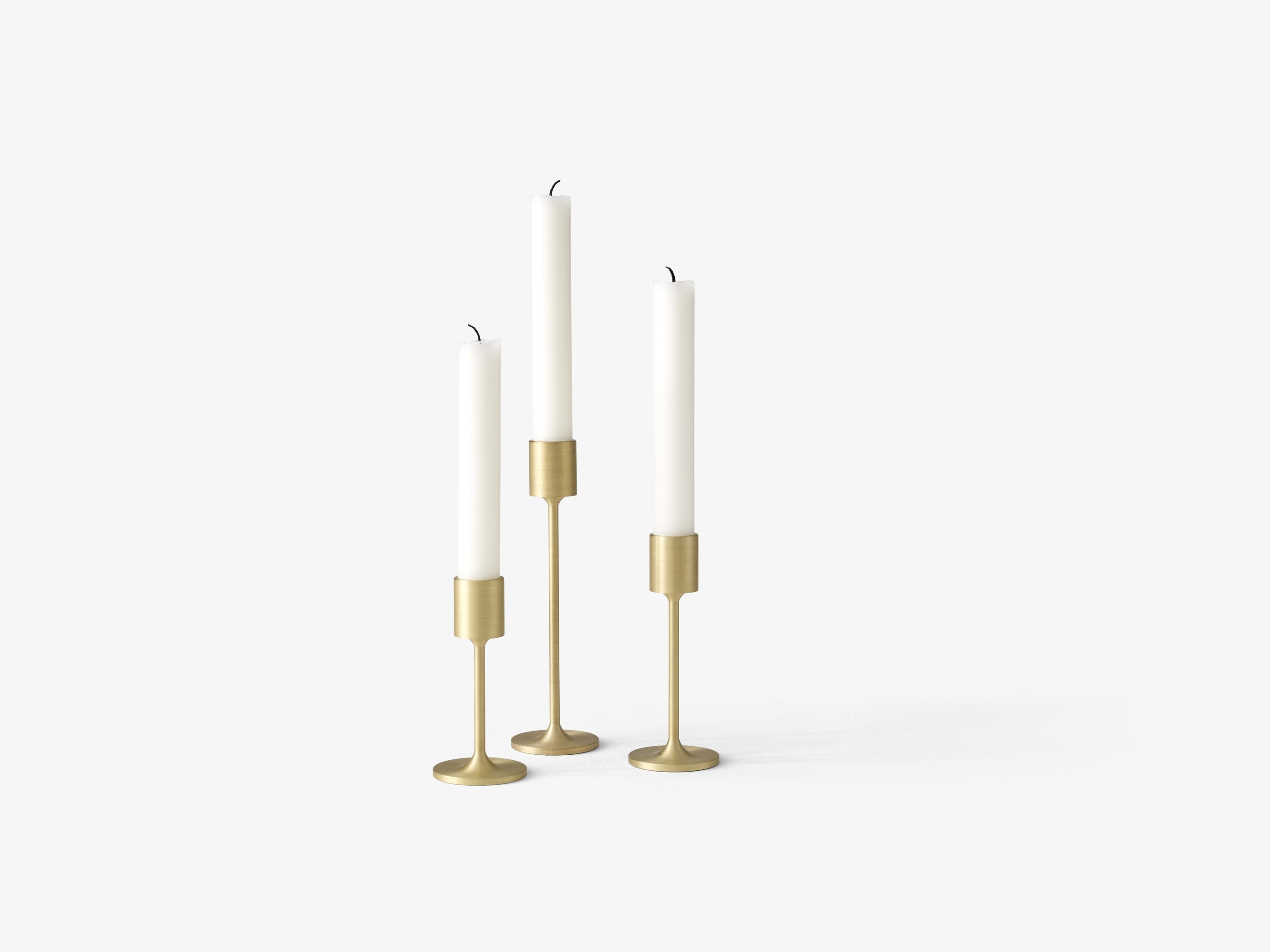 &Tradition Collect Candleholder SC58 Brass H: 13 cm