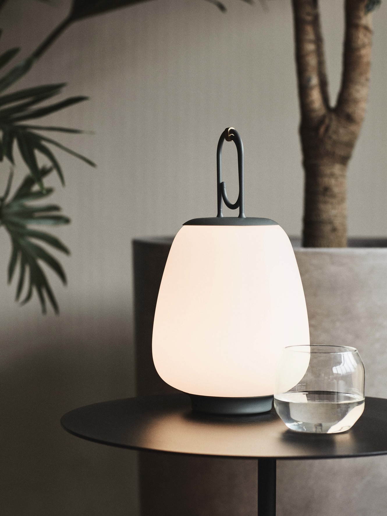 &Tradition Lucca SC51 Outdoor Portable Lamp Moss