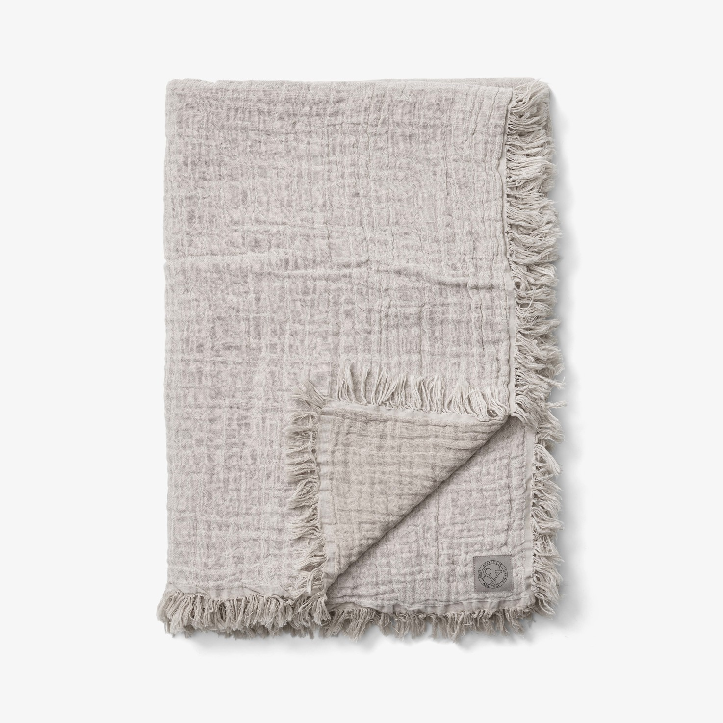 &Tradition - Collect Throw SC33 Cotton Plaid Cloud & Milk